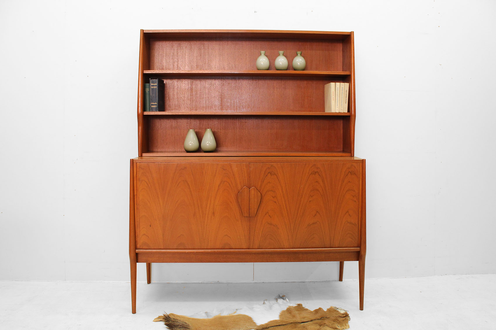 couple of Danish bookcases in teak